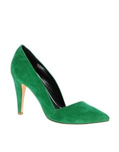 River Island Pointed Toe Court Shoes
