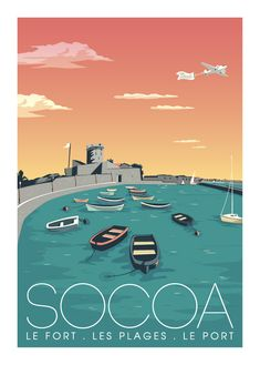 © Marcel Socoa LE FORT www.marcel-travelposters.com