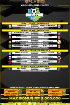 Jadwal Liga 1 Indonesia 2018 Pekan 23