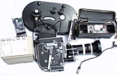 16mm Bolex Camera - I used this same model Bolex shooting high school football coaching movies in the 1970's and 80's. Larry Snode