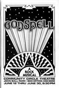 #Godspell #CircleTheatre 1985