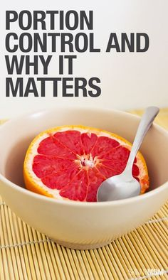 Are you eating too much?  Get the skinny on portion control.