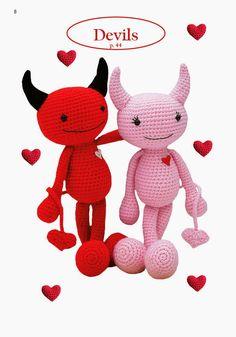 Amigurumi crochet patterns ~ K and J Dolls / K and J Publishing: Amigurumi