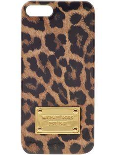 Michael Kors leopard iphone case
