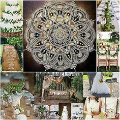 Mandala Art, Wedding, Design, Valentines Day Weddings, Weddings, Marriage, Chartreuse Wedding