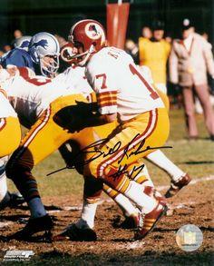AAA Sports Memorabilia LLC - Billy Kilmer NFL Washington Redskins Hand Signed 8x10 Photograph vs Lions, $52.50 (http://www.aaasportsmemorabilia.com/nfl/billy-kilmer-nfl-washington-redskins-hand-signed-8x10-photograph-vs-lions/)