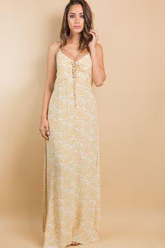 Penelope Maxi Dress | Olivaceous | Fedra Boutique