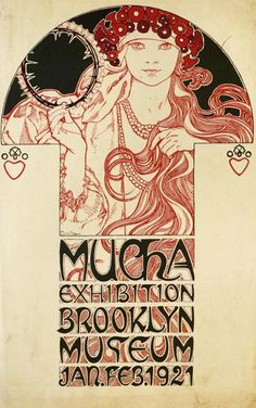 Organic Forms and Whiplash Curves - Alphonse Mucha.1860-1939. Part 2.