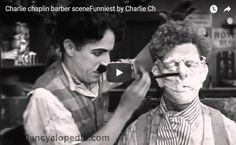 Charlie Chaplin Barber Scene Funniest By Charlie Ch-Funny Video