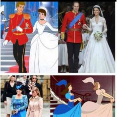 The first picture is definitely not disney (lame) but its funny...
