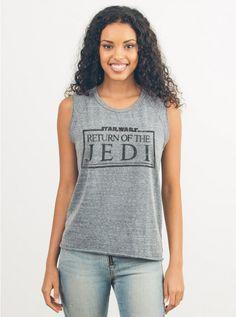 Return Of The Jedi Raglan Tank - Star Wars - Collections - Womens