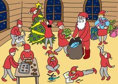Papunetin joulukalenteri Bastille, Xmas, Christmas, Bliss, Peanuts Comics, Advent Calenders, Navidad, Navidad, Noel
