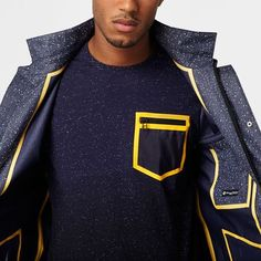 3 layer X Kyle NG jacket Sport Fashion, Mens Fashion, Outdoor Wear, Mens Activewear, Modern Outfits, Textiles, Fashion Branding, Sportswear, Menswear