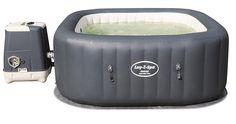 """Bestway Lay-Z-Spa Whirlpool """"Hawaii HydroJet Pro"""", viereckig, 180 x 71 cm, Personen, grau Best Gas Barbecue, Jacuzzi, Intex Whirlpool, Inflatable Hot Tub Reviews, Tubs For Sale, Hot Tub Garden, Hawaii, Lidl, Shopping"""