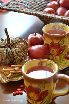 Image result for tea in the Fall season