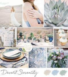 Desert Serenity Wedding Inspiration Board | SouthBound Bride