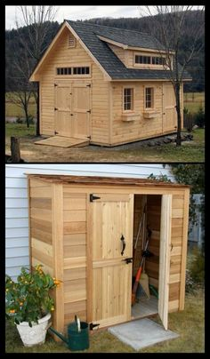 #shed#shedhouse#shed definition#sheds for sale#shed kits#shed plans#sheds for sale near me#sheds near me#shed house#how to build a shed#tuff shed#shed builders near me#wood shed#plastic shed#lowe's shed#storage sheds#garden shed#backyard shed#shed design#she shed#shed roof#shed houses#she to tiny house#shed cabin#shed building plans#shed barns#diy shed#shed floor#outdoor shed#log cabin shed, Shed Building Plans, Shed Plans, Outdoor Tool Storage, Log Cabin Sheds, Cedar Shed, Cool Sheds, Workshop Shed, Wooden House Design, Shed Builders