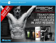 P90X Challenge Packs on sale for 6 more days!    90 Days of workouts  30 Days of Shakeology  30 Days of online VIP membership  FREE Shipping!    Money back guarantee!  www.beachbodycoach.com/kwienches