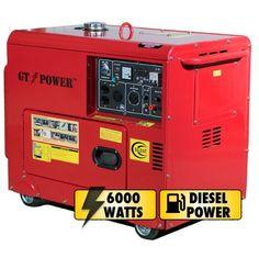 GT-Power 6000 Watts Diesel Power Generator