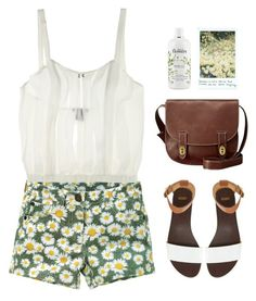 """""""The earth laughs in flowers"""" by maartinavg ❤ liked on Polyvore featuring The Lake & Stars, FOSSIL, philosophy and ASOS"""