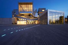 The House of Music in Aalborg. Designed by Coop Himmelb(l)au,