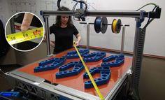 3ders.org - 3DP Unlimited's large format X1000 3D printer lets you print bigger | 3D Printer News & 3D Printing News