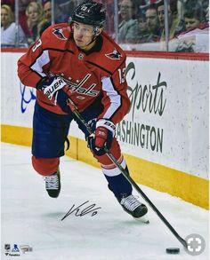ea0e6727c Jakub Vrána Washington Capitals Fanatics Authentic Autographed x Red Jersey  Skating Photograph