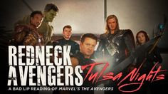 """""""Redneck Avengers: Tulsa Nights"""" is a Bad Lip Reading parody of Marvel's The Avengers. In the parody, the characters are given radically different accents Night Video, Hollywood Gossip, Marvel Films, Dear God, Tumblr Funny, I Laughed, Drama, Hilarious, Lips"""