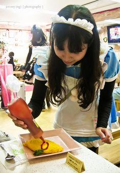 Popopure Maid Cafe, Akihabara. Maid cafe in Akihabara is a definite destination!