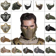 Airsoft hub is a social network that connects people with a passion for airsoft. Talk about the latest airsoft guns, tactical gear or simply share with others on this network Tactical Wear, Tactical Clothing, Army Gears, Airsoft Helmet, Tactical Helmet, Tac Gear, Half Face Mask, Cool Masks, Military Gear
