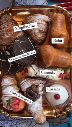 Delícias italianas diretamente da cidade de Nápoles, no Sul do país. Quer saber mais sobre a Itália e o mundo? Visite nosso Insta! #italy #italianfood #sweet #italian #europe #sobremesa #doce #delicious #delicias #comidas #italy #italyvacation #italytrip