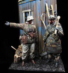 Waffen SS ostfront 1944-1945 Evolution miniatures 1:35 Painter: David Hernanz