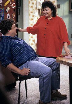 Dan and Roseanne (John Goodman and Roseanne Barr), Roseanne