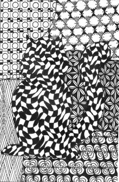 zentangle - From the Artsy Side of Saidfraz