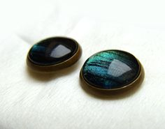 Northern lights Earrings Galaxy earrings Space by GalaxyIllusion