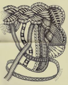 Weekly Challenge #2 by molossus, who says Life Imitates Doodles, via Flickr