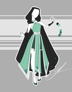 ::Commission 1 by Scarlett-Knight on DeviantArt - .::Commission 1 by Scarlett-Knight. Anime Kimono, Anime Dress, Clothing Sketches, Dress Sketches, Dress Drawing, Drawing Clothes, Outfit Drawings, Fashion Design Drawings, Fashion Sketches