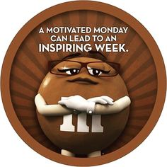 Every accomplishment starts with the decision to try Monday Greetings, M&m Characters, M M Candy, Hard Candy, Monday Blessings, What Day Is It, Planning Your Day, Sunday Quotes, Morning Quotes