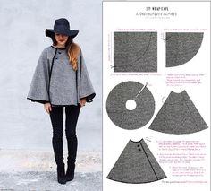 Diy 15 idées de couture saison Automne hiver Bettinael.Passion.Couture.Made in…