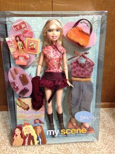 2003 Barbie My Scene Delancey Smile Doll Feelin' Flirty Highlighted Hair Rare #Mattel