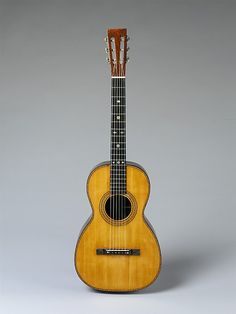 1870 American (New York) Guitar at the Metropolitan Museum of Art, New York