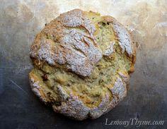 Bacon & Sage Soda Bread | Lemony Thyme #StPatricksDay