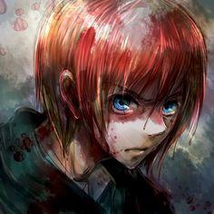 Shingeki no Kyojin - Armin He looks really good in this pic! .o.