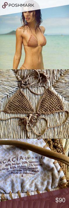 Acacia Humuhumu  top in Beach Babe crochet NWOT Acacia Humuhumu  top in Beach Babe crochet NWOT acacia swimwear Swim Bikinis