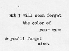 For some reason this is the saddest line from a song that I've ever heard.   Pierce The Veil