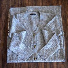 Southern Girl Fashion Sweaters - LONG SWEATER Cable Knit Maxi Cardigan Drape Jacket