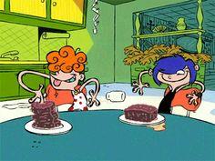Sisters Tumblr, Old Cartoon Network, Childhood Ruined, Ed Edd N Eddy, Cartoon Gifs, Old Cartoons, Screwed Up, Good Ol, Theme Song