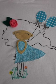 Camiseta decorada