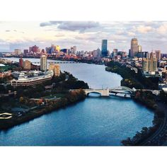 Takin' in the view #boston #city #view #landscape #charlesriver #feels #aesthetics #bu2019 #bostonuniversity #fall by kaleighlerner96
