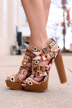 Along the Way Heel - Tan from UOI Boutique.